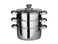 Steel Steamer Cooker Pot