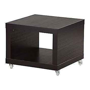 Ikea Lack Rolling Side Table On Castors