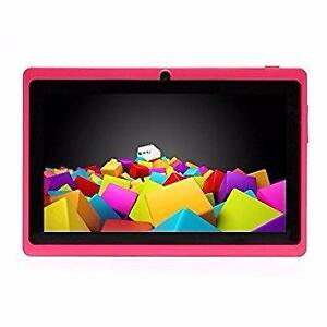 THE CELL SHOP has Brand New 7 inch Android Tablets available in Pink and Blue