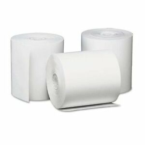 Universal Thermal Paper for Receipt Printers, 3-1/8in x 230' Rol