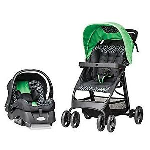 Evenflo stroller and car seat