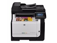 HP Wireless Laser Colour Printer/Scanner and Photocopier in very good condition