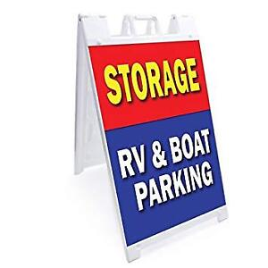 Outdoor storage for boats and RV