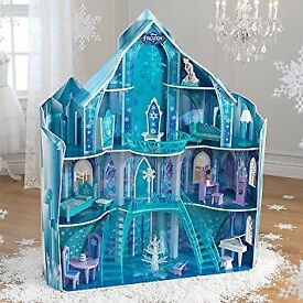 Disney Frozen Snowflake Mansion Dolls house Castle
