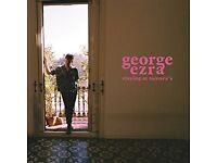 George Ezra Standing Ticket Usher Hall Edinburgh