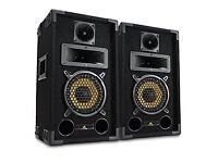 "Pair of Lemon Audio 6"" Passive Speakers 500w"