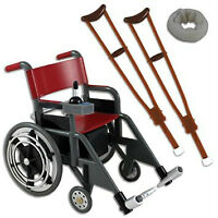 WWE ELECTRIC WHEELCHAIR FIGURE  SET RARE OUT OF PRODUCTION