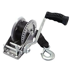 Boat Trailer Winch 1200 lbs with 21 feet