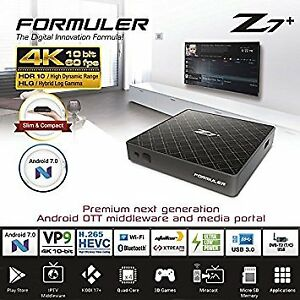 FORMULER Z7+ (BUILT IN WIFI) WITH 1 MONTH IPTV SERVICE