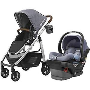 Uppababy Cruz stroller with car seat+adapter......