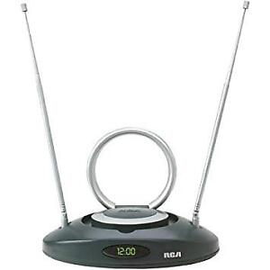 RCA CANT501 UHF VHF FM Amplified Indoor Antenna
