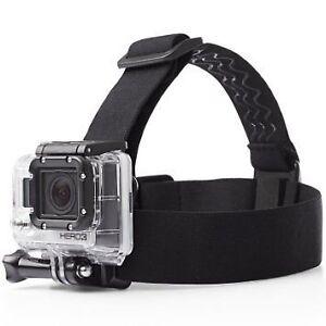 Head mount strap accessory for Gopro Hero 3 / Hero 4 etc.