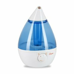Crane Ultrasonic Cool Mist Humidifier, Blue Drop Shape