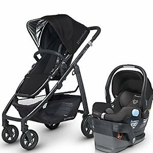 Stroller Uppababy Cruz  with car seat-adapter-