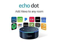 Brand New Boxed Amazon Echo Dot 2nd Generation (black)