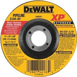 dewalt dw8802 4-Inch by 1/8-Inch Extended Performance Pipeline