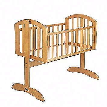 Mothercare Cot/Swinging Crib (with clean mattress)
