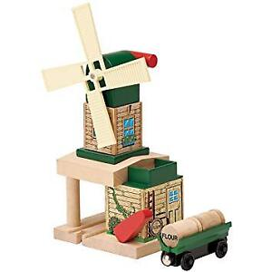 Thomas and Friends Wooden Train - Toby's Windmill