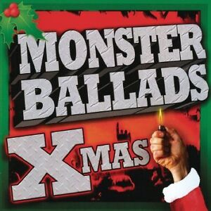 Monster Ballads Xmas cd-Metal Christmas cd-Excellent condition
