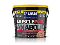 USN Muscle Fuel Anabolic 4kg tub, new formula