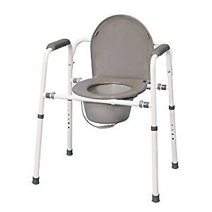 3-In-1 Portable Commode Chairs