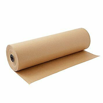 Brown Kraft Paper Roll For Packing And The Gift Wrap Craft Decorative Paper New