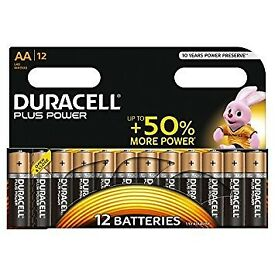 50 packs of duracell 12pk batteries