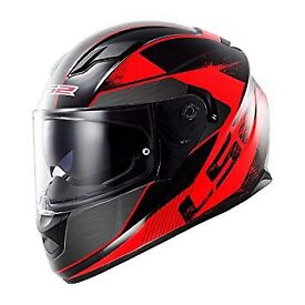 LS2 helmet hardly used