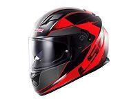 LS2 helmet hardly used