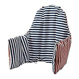 High Chair Cushion and cover for ANTILOP Ikea chair