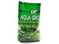 Aqua fish tank soil