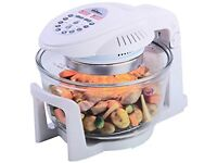 Your Kitchen 12 Litre Digital Halogen Oven With Fixed Arm..... brand new