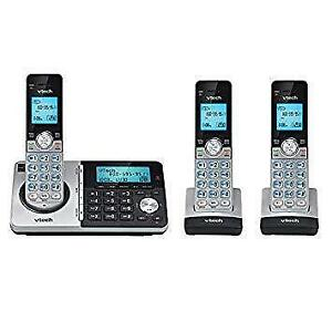 V-Tech DECT 6.0 Three Handset Cordless Phones with Caller ID, Backlit Keypads.( CS 5158-3) Super sale $39.00 No Tax !!!!
