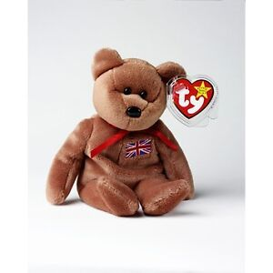 Britannia the UK Exclusive Bear Ty Beanie Baby stuffed animal Kitchener / Waterloo Kitchener Area image 1