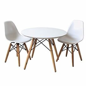 New and unused Eames style chairs and dinning table