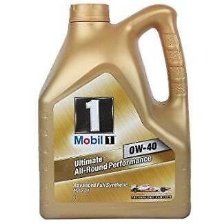 4L of 0W40 Mobil1