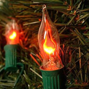 Christmas Lights Flickering Flame Indoor Outdoor