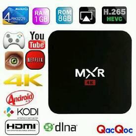 MXR 4K ANDROID TV BOX WITH KODI 16.1