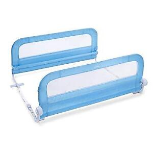 Summer Dual Bed Rails in Blue - Excellent Condition