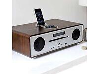 Ruark Vita R4i iDock/CD Bluetooth integrated hifi system (Walnut finish)