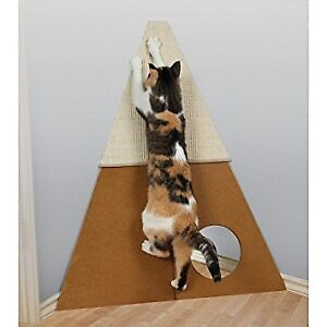 Corner Scratcher for Cats *New* With Hidey Hole