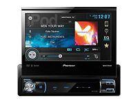 Pioneer avh x7500bt DVD player with Bluetooth
