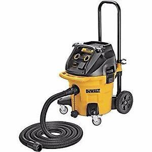 DEWALT DWV012 Extracteur de poussière 38 litres (10 gallons) à filtre autonettoyant DWV012 de DEWALT
