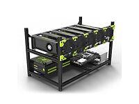 6 GPU Mining Rig Build Service