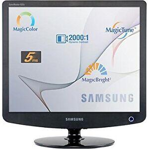 "Samsung 19"" LCD TFT 2000:1 SyncMaster Computer Monitor Screen"