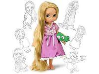 Tangled animators doll boxed