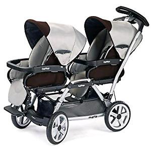 Peg Perego SW Duette Stroller. Includes 2 seats.