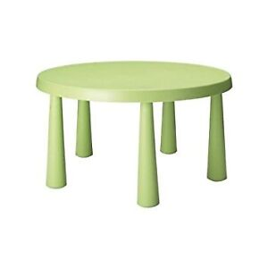 Table enfant Ikea collection MAMMUT verte