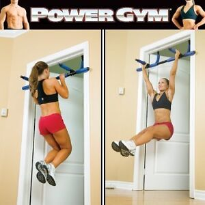 Power Gym - Door Mounted Chin Up Bar + extension for ABS/TRICEPS West Island Greater Montréal image 2