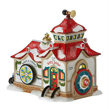 Department 56 North Pole Bike Shop  4025281